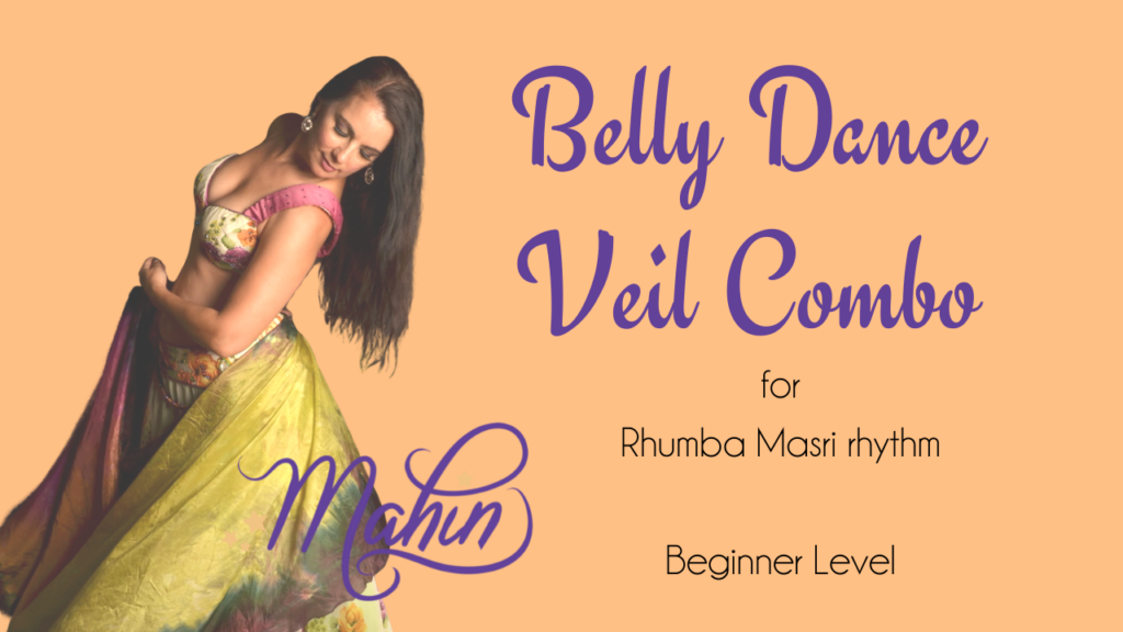 Belly Dance Veil Combo for Beginners