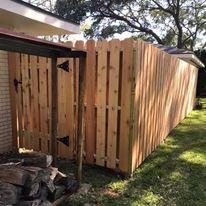 shadowbox fence
