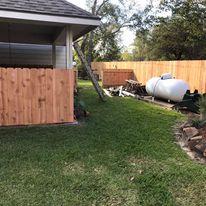 east bernard fence
