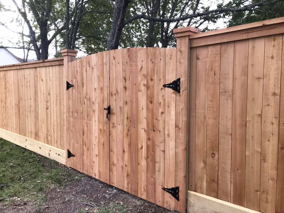 custom arched gates