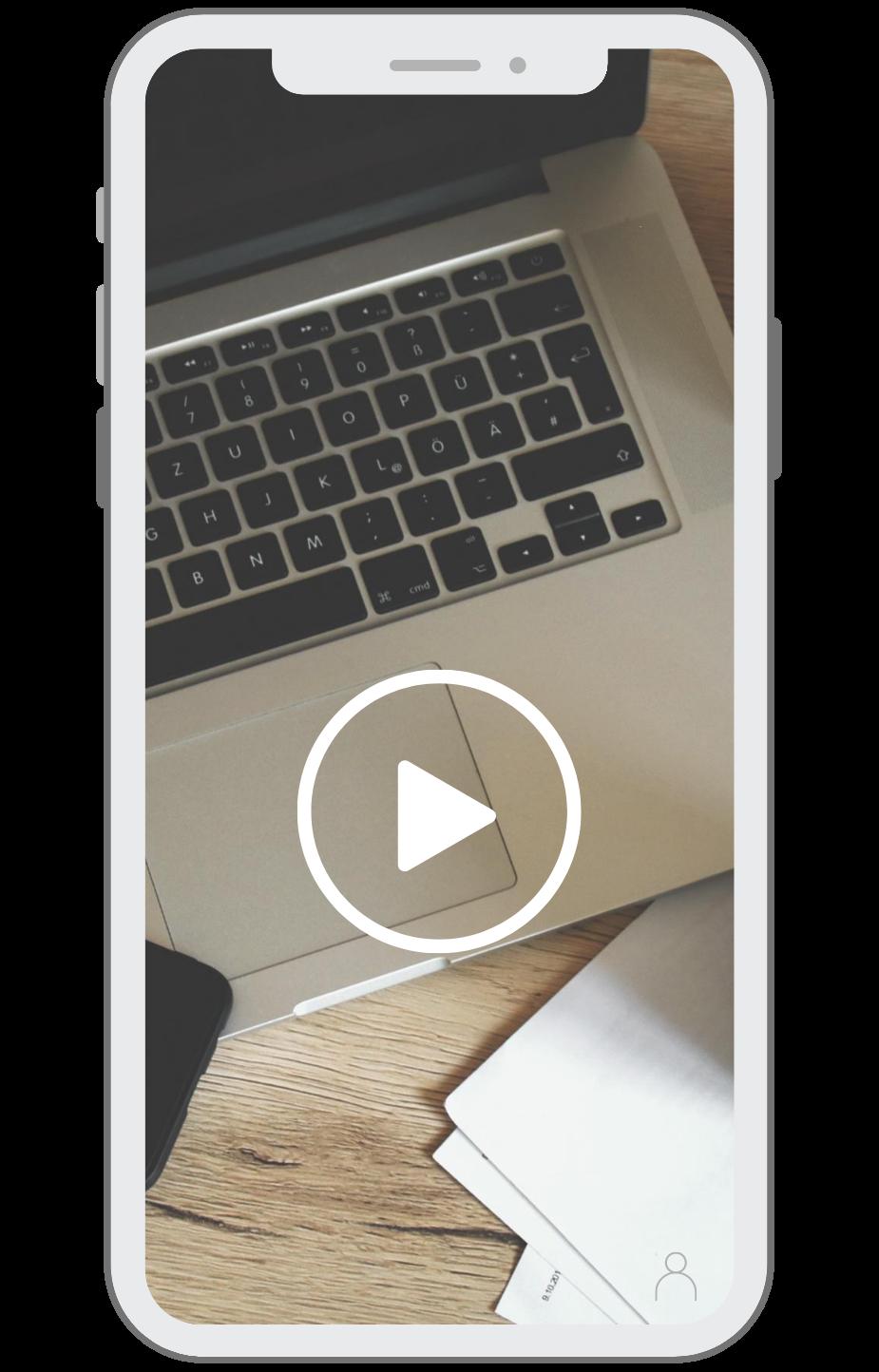 UWP Phone layout - Video Screen Keyboard