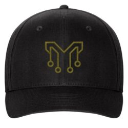 Gold Circuit M FlexFit Hat