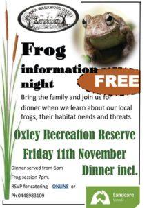 frog-information-night