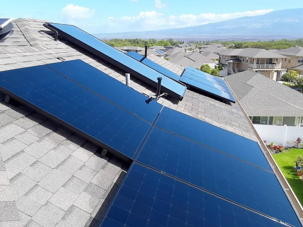 rooftop solar panel cleaning