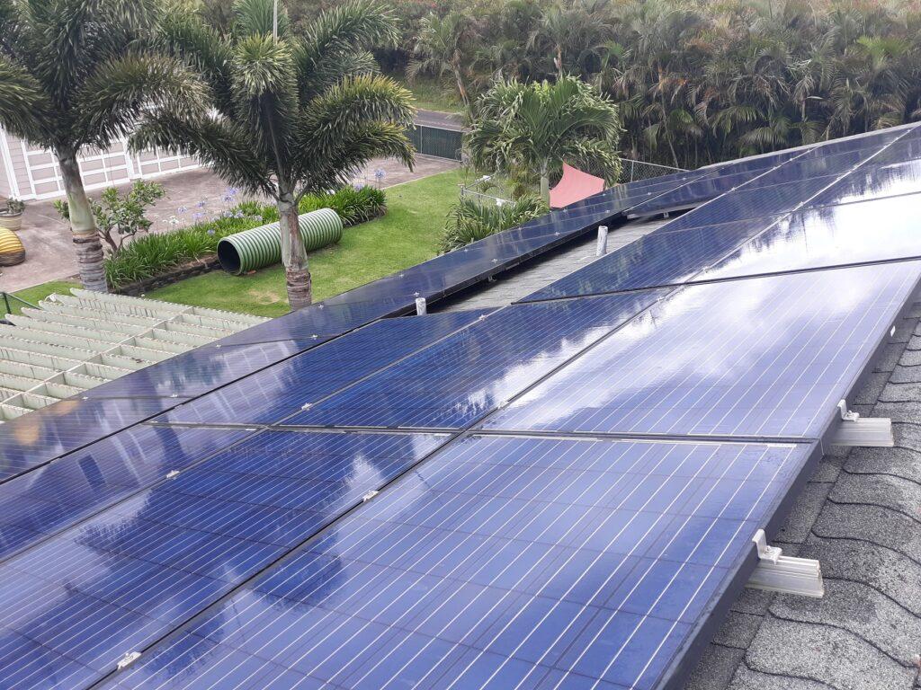 clean Hawaii solar panels