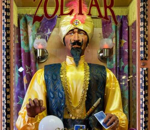Strange Times:  We Need Zoltar To Give Us A Plan!