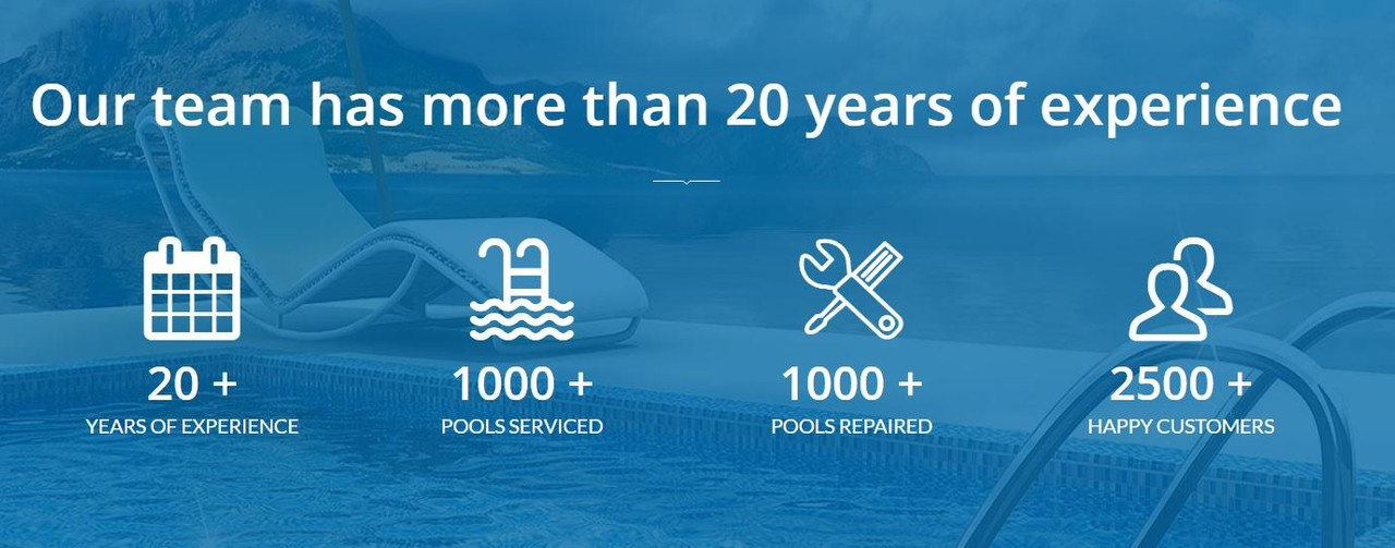The pool service technicians at Round Rock Pool Pros are proud of their 20 years of experience, 1000 plus pools serviced and 1000 pools repaired for our 2500 plus customers in Cedar Park, Pflugerville, Round Rock and Georgetown Texas.