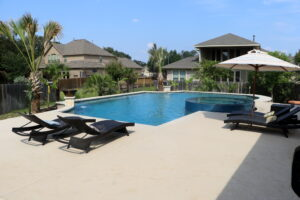 Gunite in ground pool