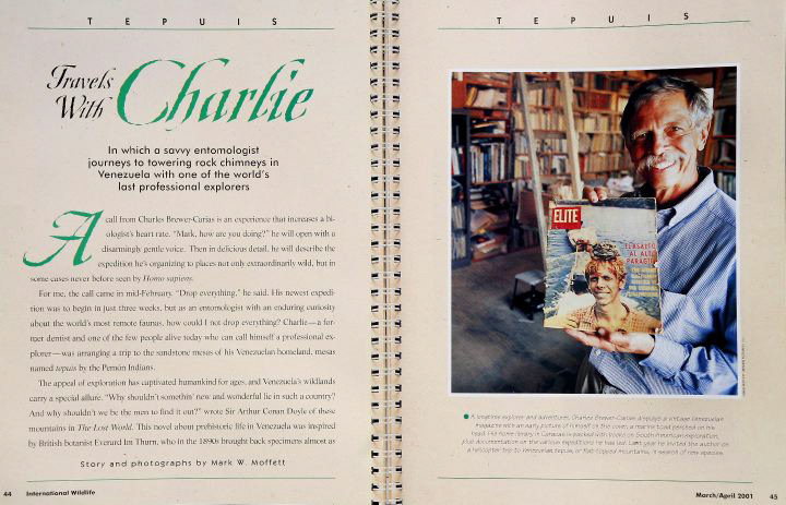 Travels With Charlie National Wildlife Magazine  (Click to open)