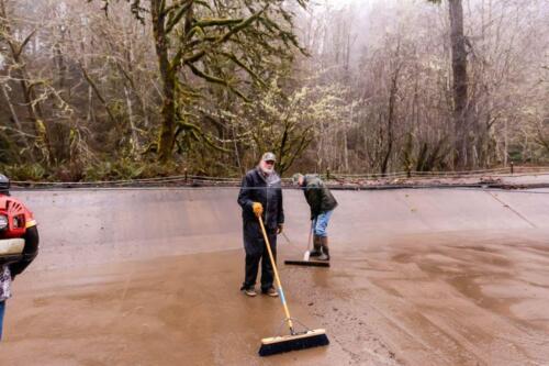 2021 Rhoades Pond Cleanup