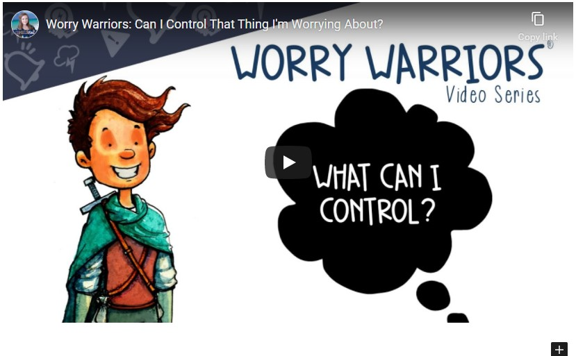 Video: Can I Control That Thing I am Worried?