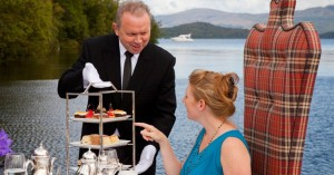 Afternoon tea on the Loch