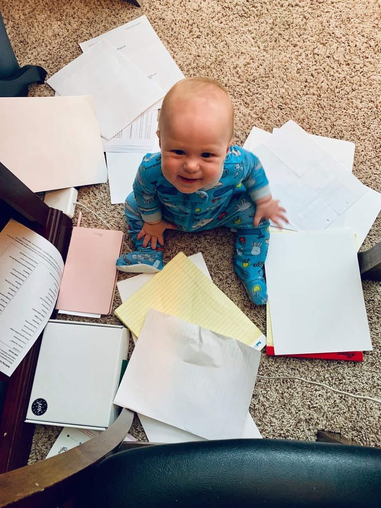 Baby out of control mess