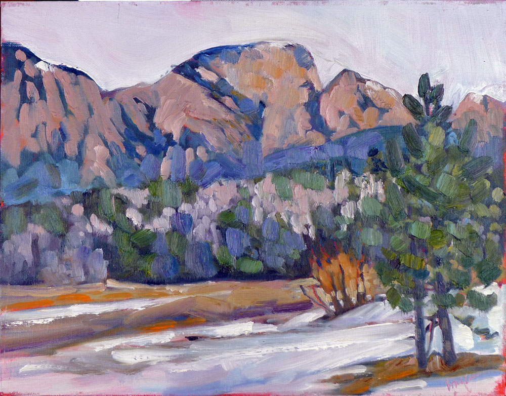 """Hermit's Peak,"" El Porviner, NM, available"