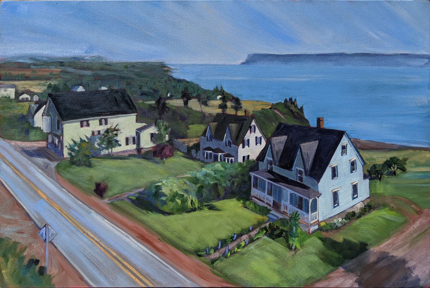 Painted in Port Greville, NS.