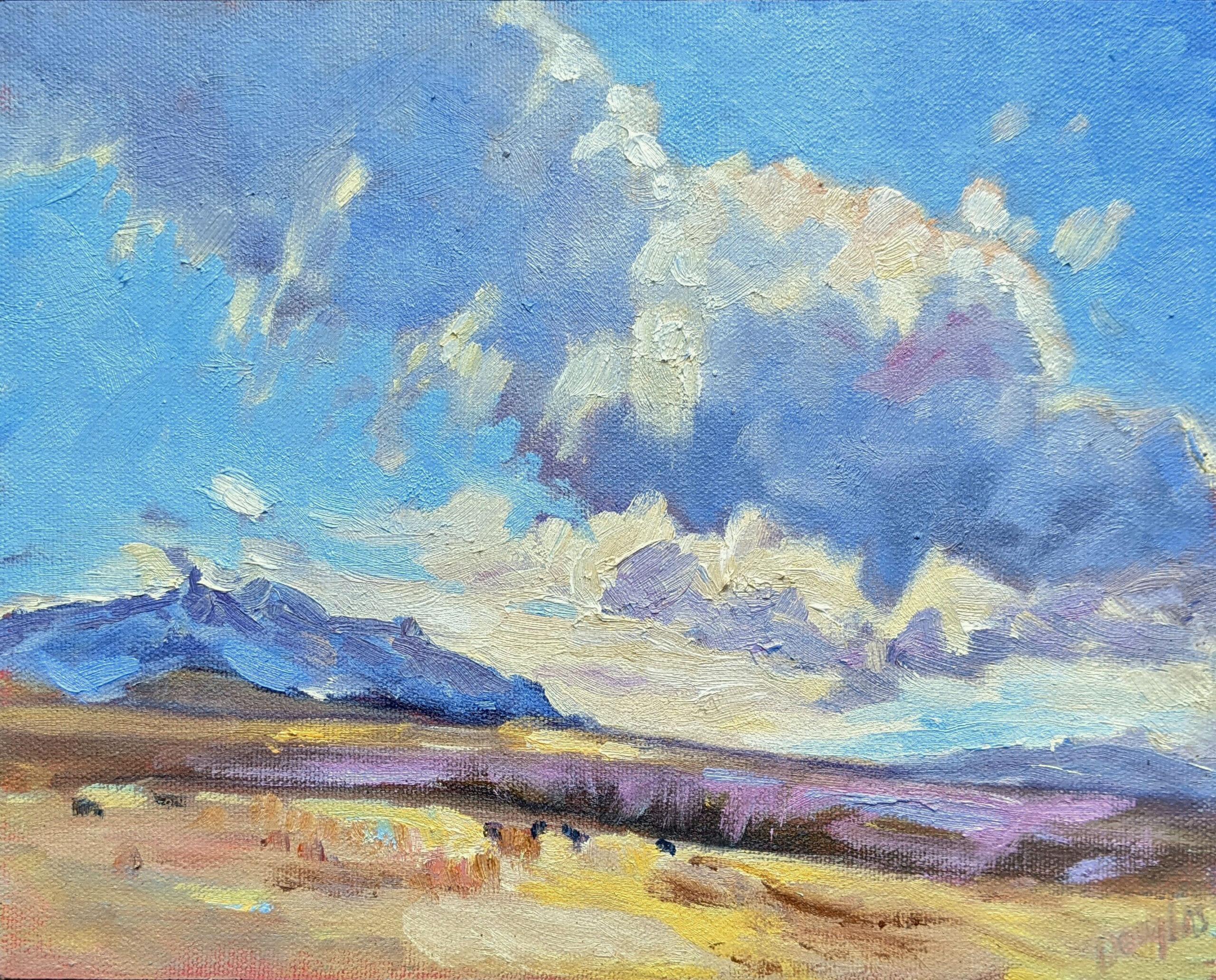 Carol L Douglas Clouds and Ranch