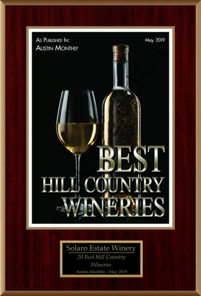 Austin Monthly 20 best wineries