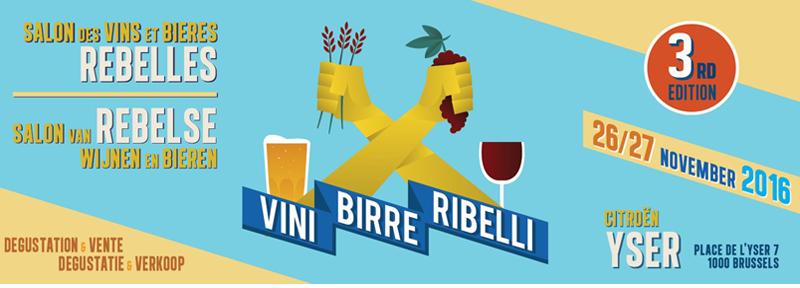Tripel B a Vini Birre Ribelli 2016 a Bruxelles per la proclamazione delle birre Lambic come presidio Slow Food