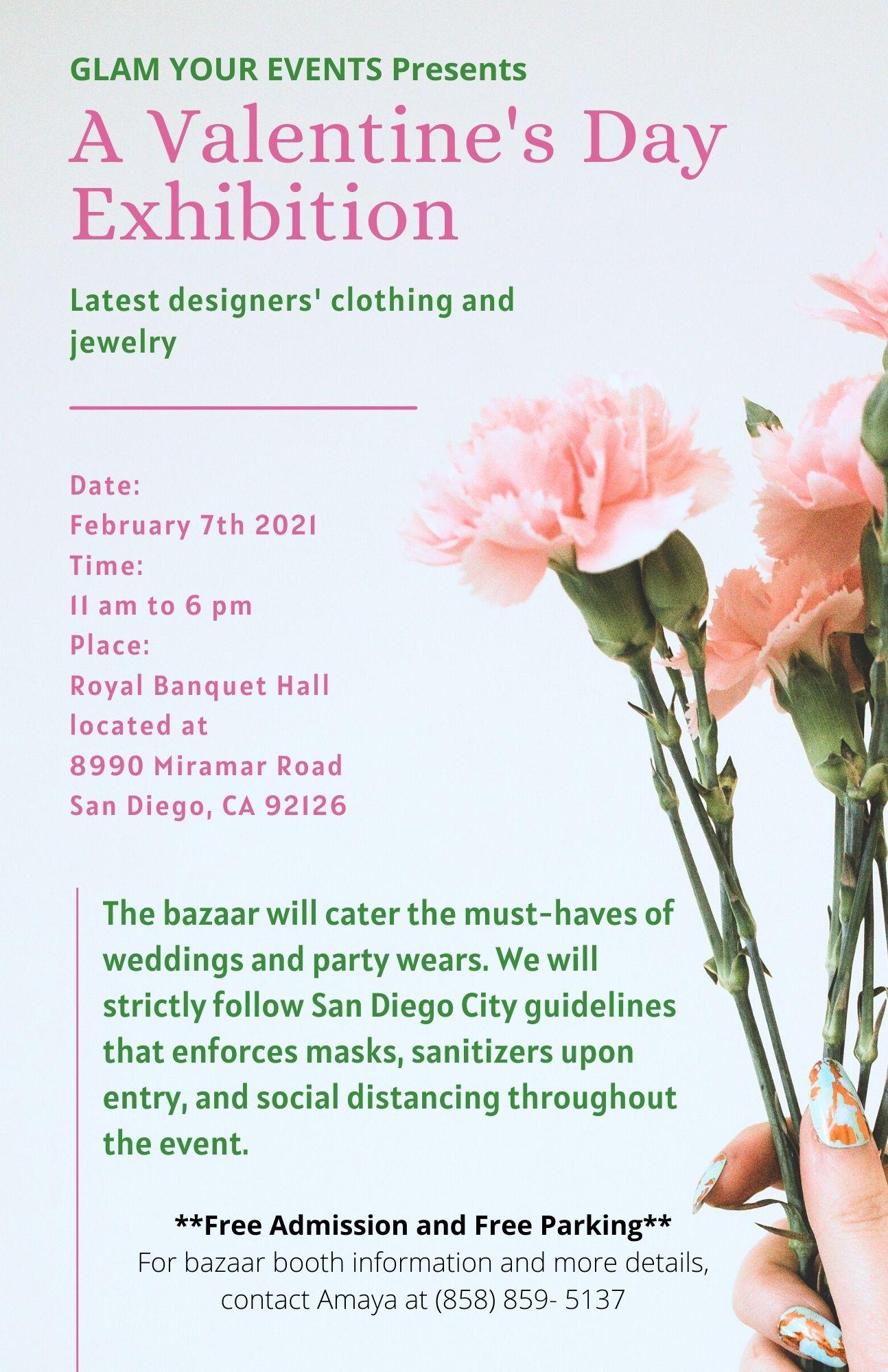 a valentine's Day Exhibition