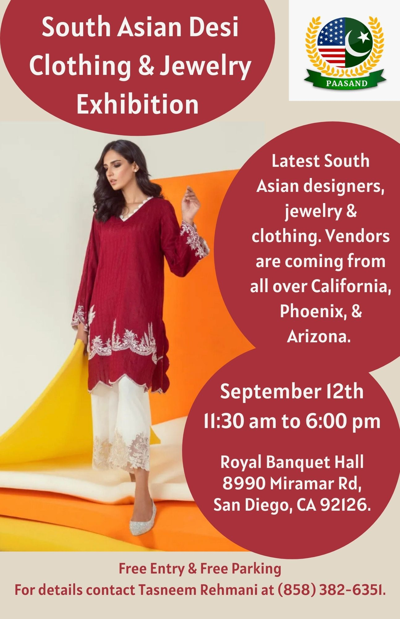 South Asian Desi Clothing & Jewelry Exhibition (1)