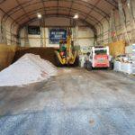 Untreated Salt Pile