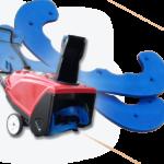 Toro Snowblower Rotor Paddles - Kage Poly