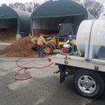 Salt Pile Spraying/Treatment Service