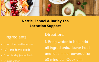 Support Lactation with Acupuncture and Tea