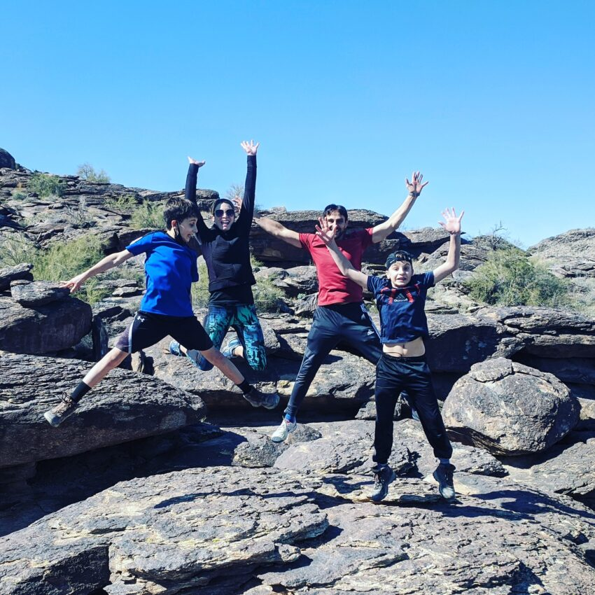 family fitness, children's health outdoor adventres