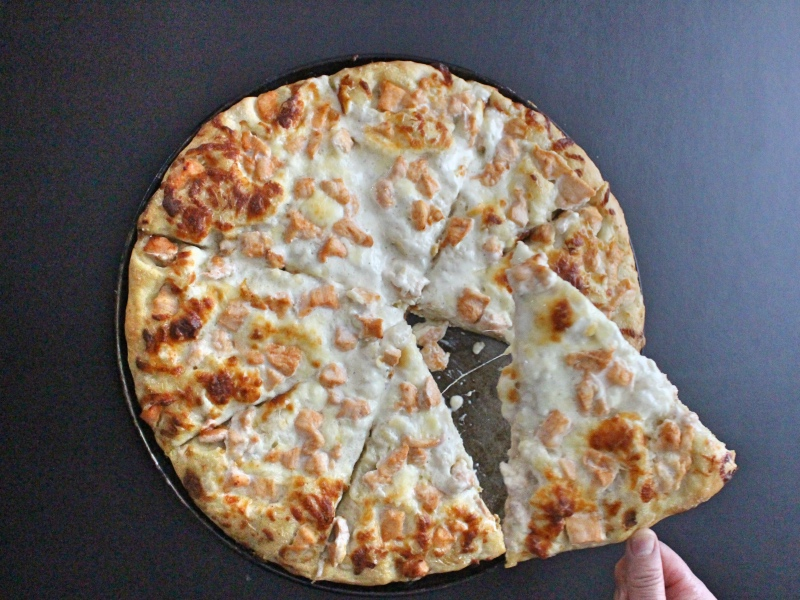 Spicy Ranch Pizza