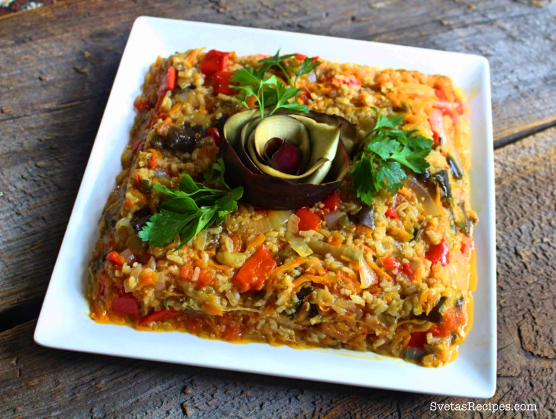 Spicy Rice With Vegetables