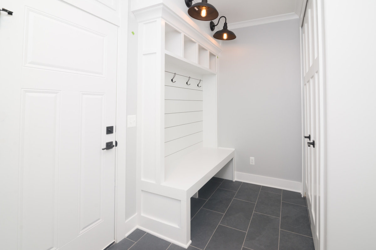 Walkout Custom Ranch with Finished Basement - Mud Room