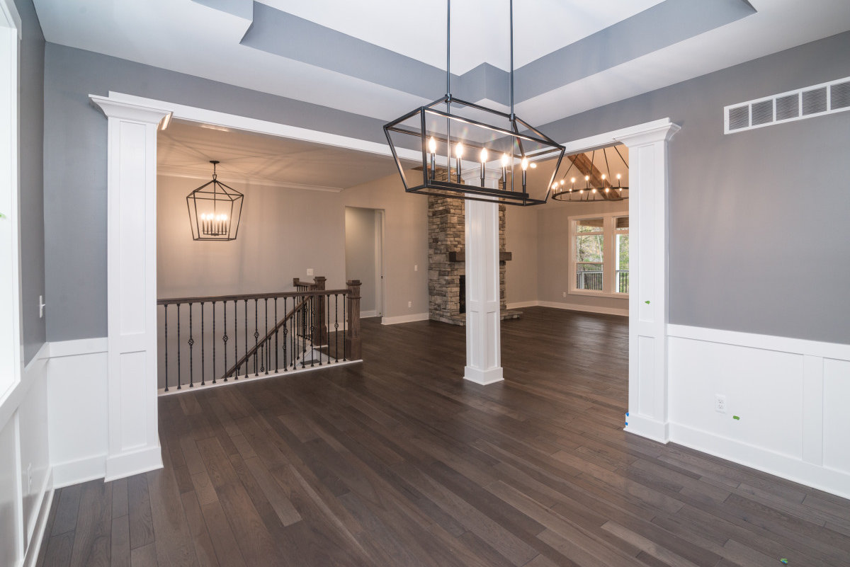 Walkout Custom Ranch with Finished Basement -Dinning area 2