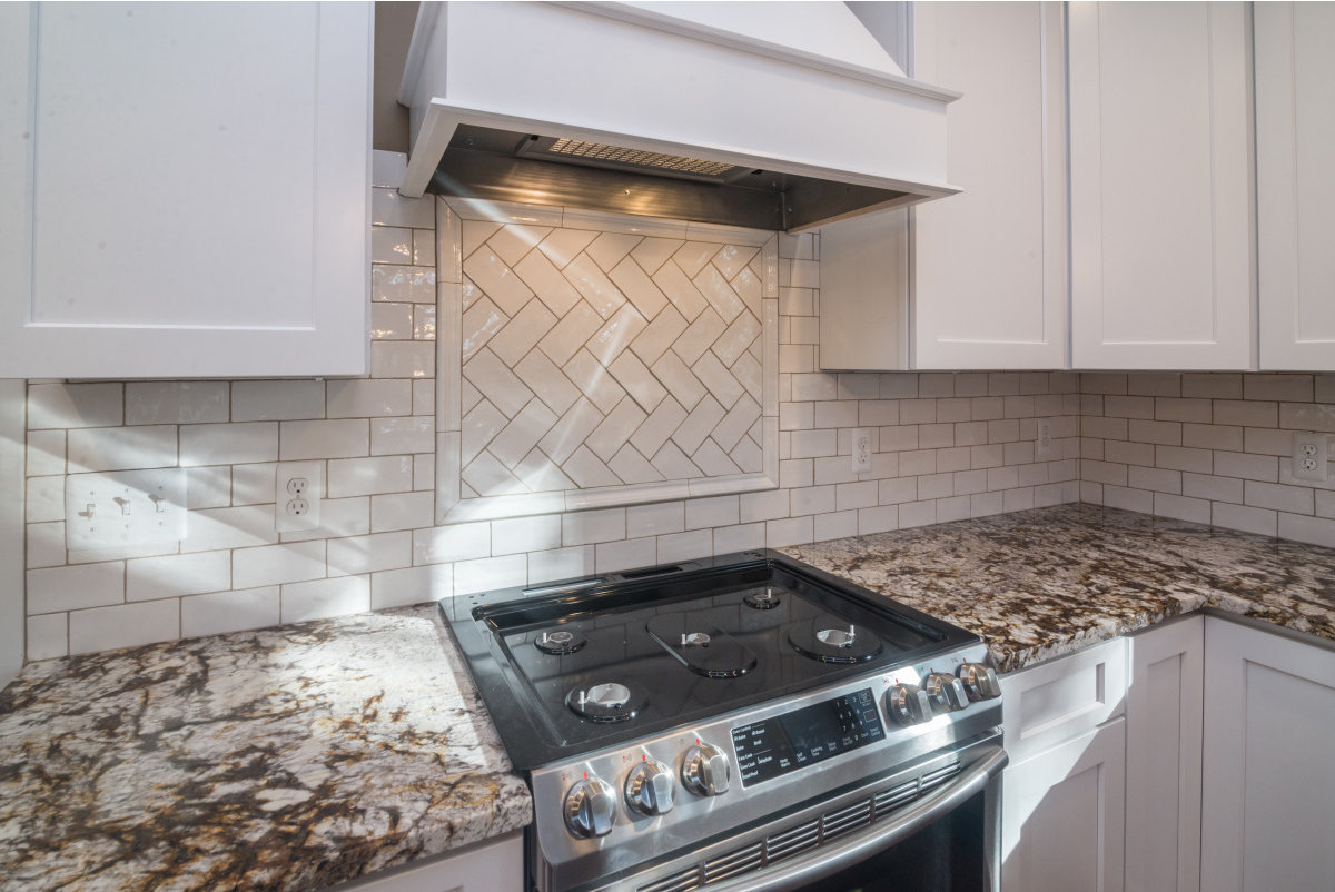 Two Story Custom Craftsman - Oven and Cabinets