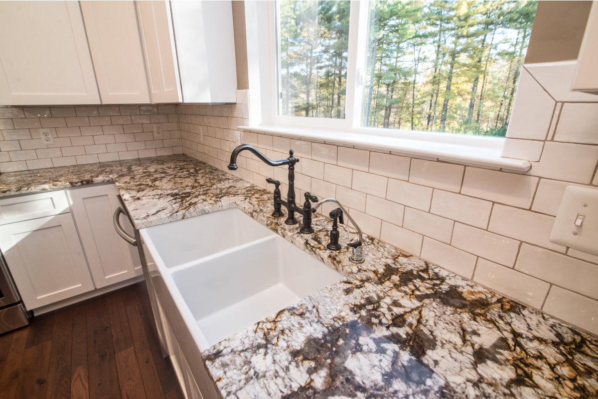 Two Story Custom Craftsman - Kitchen Farm Sink