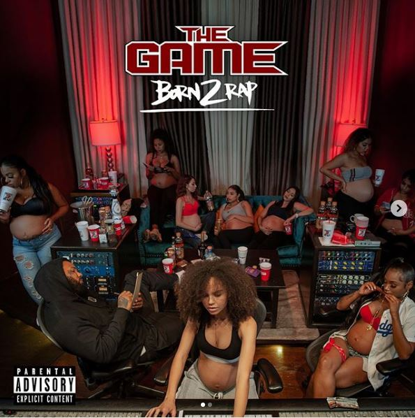 The Game Reveals Cover Art & Tracklist for 'Born 2 Rap'