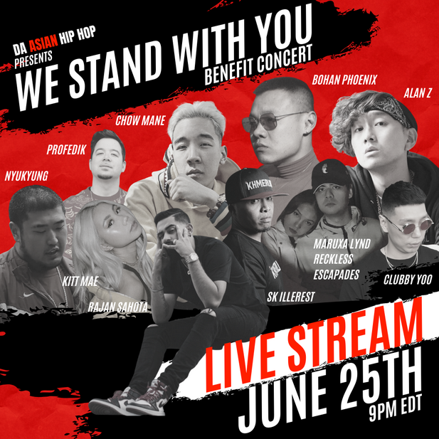 'DaAsianHipHop' to Host #BlackLivesMatter Fundraiser Event on June 25th ('We Stand With You')