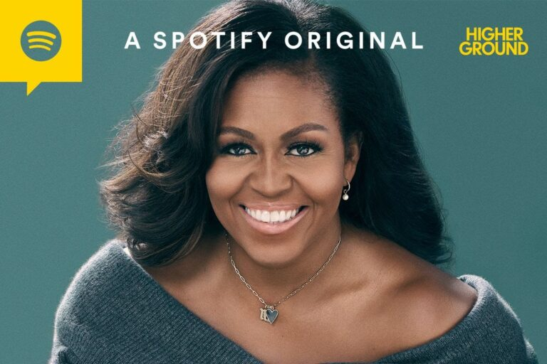 Michelle Obama Teams Up With Spotify For Exclusive Podcast