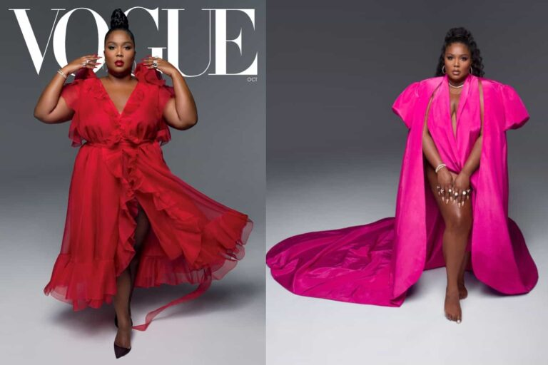"""Lizzo Talks Body Positivity In October 2020 Issue Of Vogue: """"Being Fat Is Body Positive. No, Being Fat Is Normal."""""""