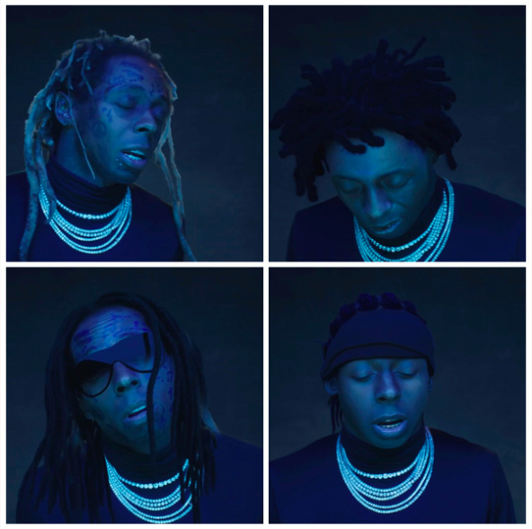 """[Watch] Lil Wayne Pays Homage To His Younger Self In New Video For """"Big Worm"""""""