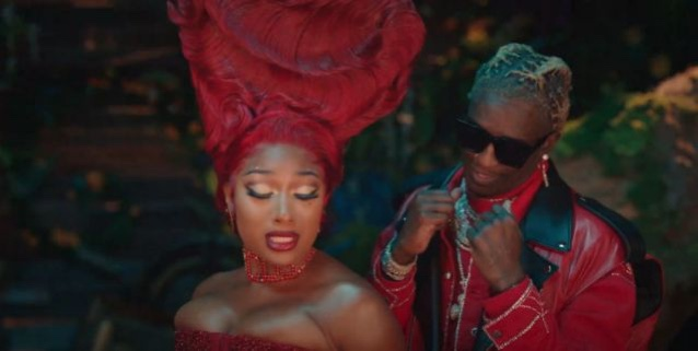 """[WATCH] Megan Thee Stallion  """"Allice In Wonderland"""" Theme Come Alive In New Video """" Don't Stop"""" Ft. Young Thug"""