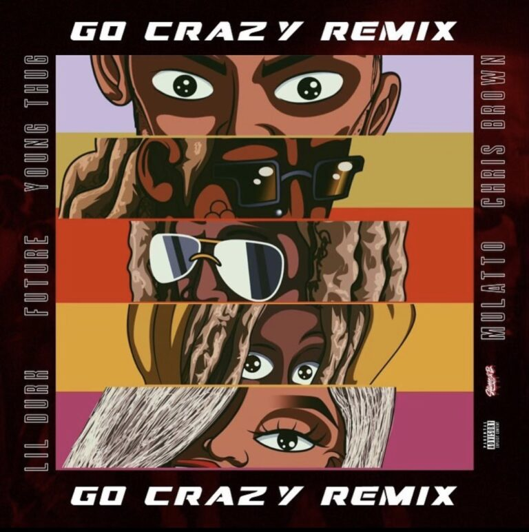 """Chris Brown Releases """"Go Crazy (Remix)"""" With Future, Lil Durk and Mulatto"""