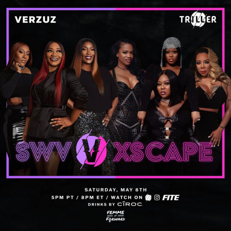 Mother's Day Weekend Kicks Off Just Right with R&B Queens SWV x Xscape VERZUZ Battle