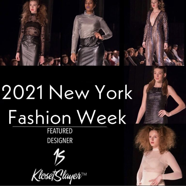 KLOSETSLAYER by Marcia Arnsparger Santiago Set to Grace The Runway During 2021 NY Fashion Week & Gets Ready to Debut Couture Swim Collection.