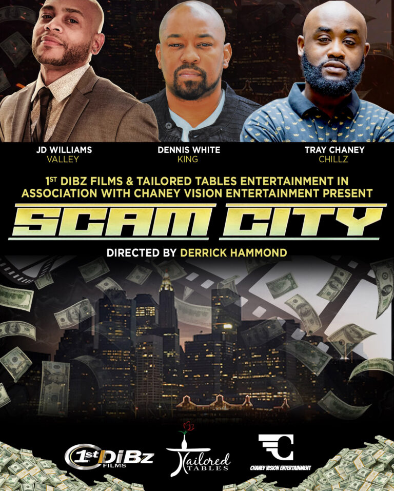 """Tray Chaney, JD Williams & Dennis White Tapped To Star In New Film """"Scam City"""""""