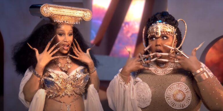 """[Watch] Lizzo and Cardi B Address The """"Rumors"""" In New Visuals"""