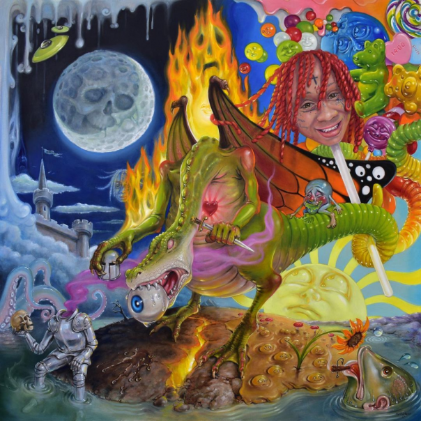 Trippie Redd Drops Hot New Album 'Trip At Knight' With Features from Drake, Lil Uzi Vert & More
