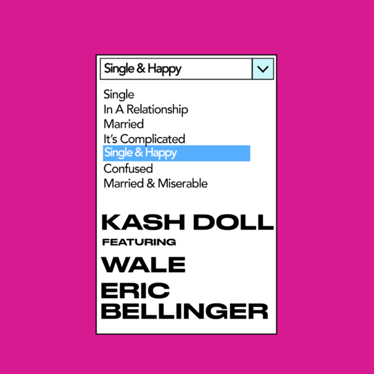 """Kash Doll Wants You To Know She's """"Single & Happy"""" In New Single FT. Wale and Eric Bellinger"""
