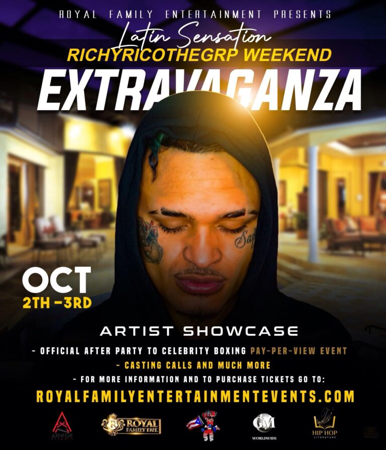 ROYAL FAMILY ENTERTAINMENT Will Bring a Celebrity Boxing Event to Miami Feat Special Guest RichyRicoTheGRP