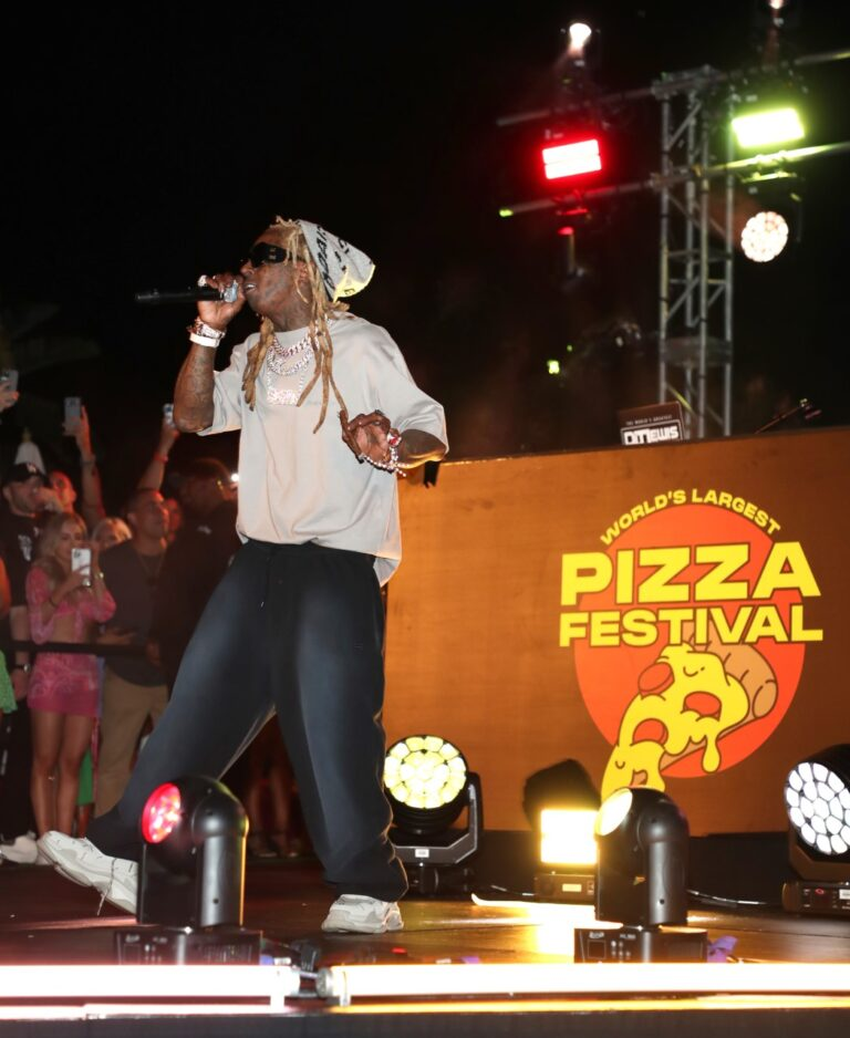 Lil Wayne, Steve Aoki, Trey Songz, Melody Thorton and More Attend The World's Largest Pizza Festival Benefiting Model Citizen in Partnership with Let's Play Production